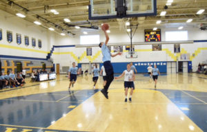 Columbia Unified Basketball game