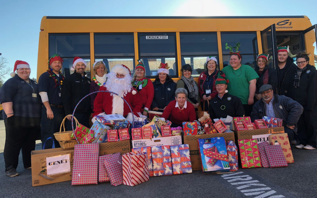 Transportation Department Delivers for the Holidays