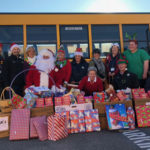 Transportation Department delivers candy canes
