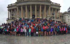 Goff students in Washington, D.C.