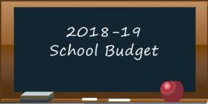 2018-19 budget graphic