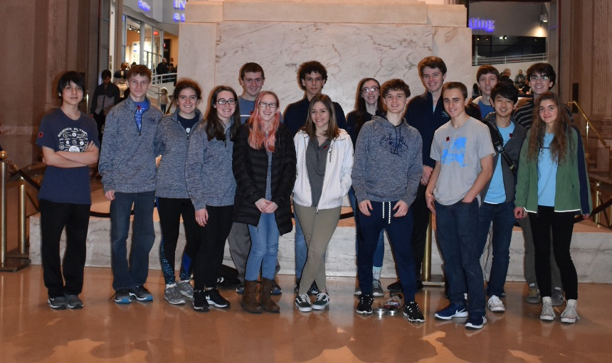Columbia Science Olympiad Places 3rd at UPenn Invitational