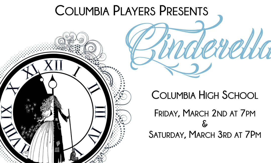 "Columbia Players Present ""Cinderella"" – March 2 and 3"