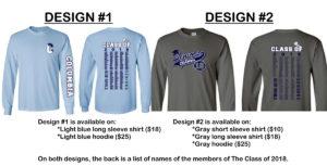 Senior class apparel