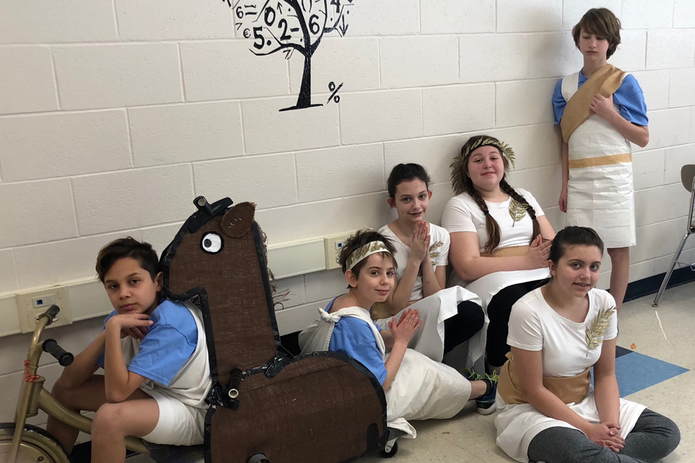 Two East Greenbush Schools Place 3rd at Odyssey of the Mind Regional Tournament
