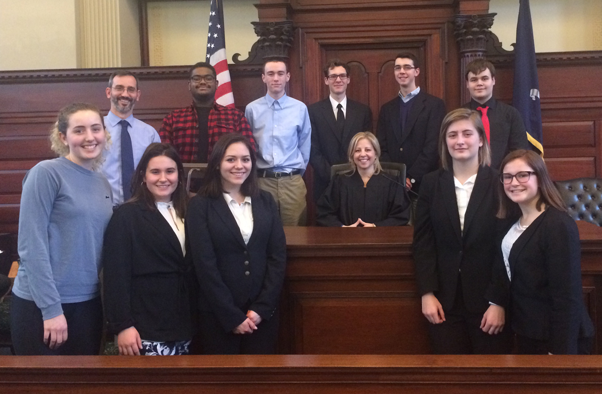 Columbia Mock Trial team