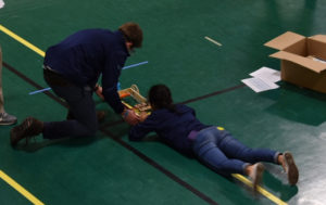 Columbia Science Olympiad students competing at NYS Championships