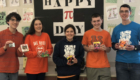 Columbia students at Pi Day Recitation Contest
