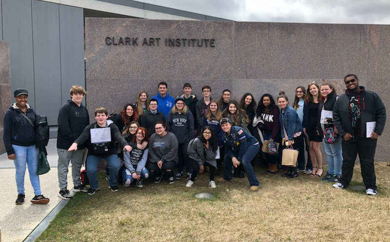 CHS Art Club at Clark Art Institute