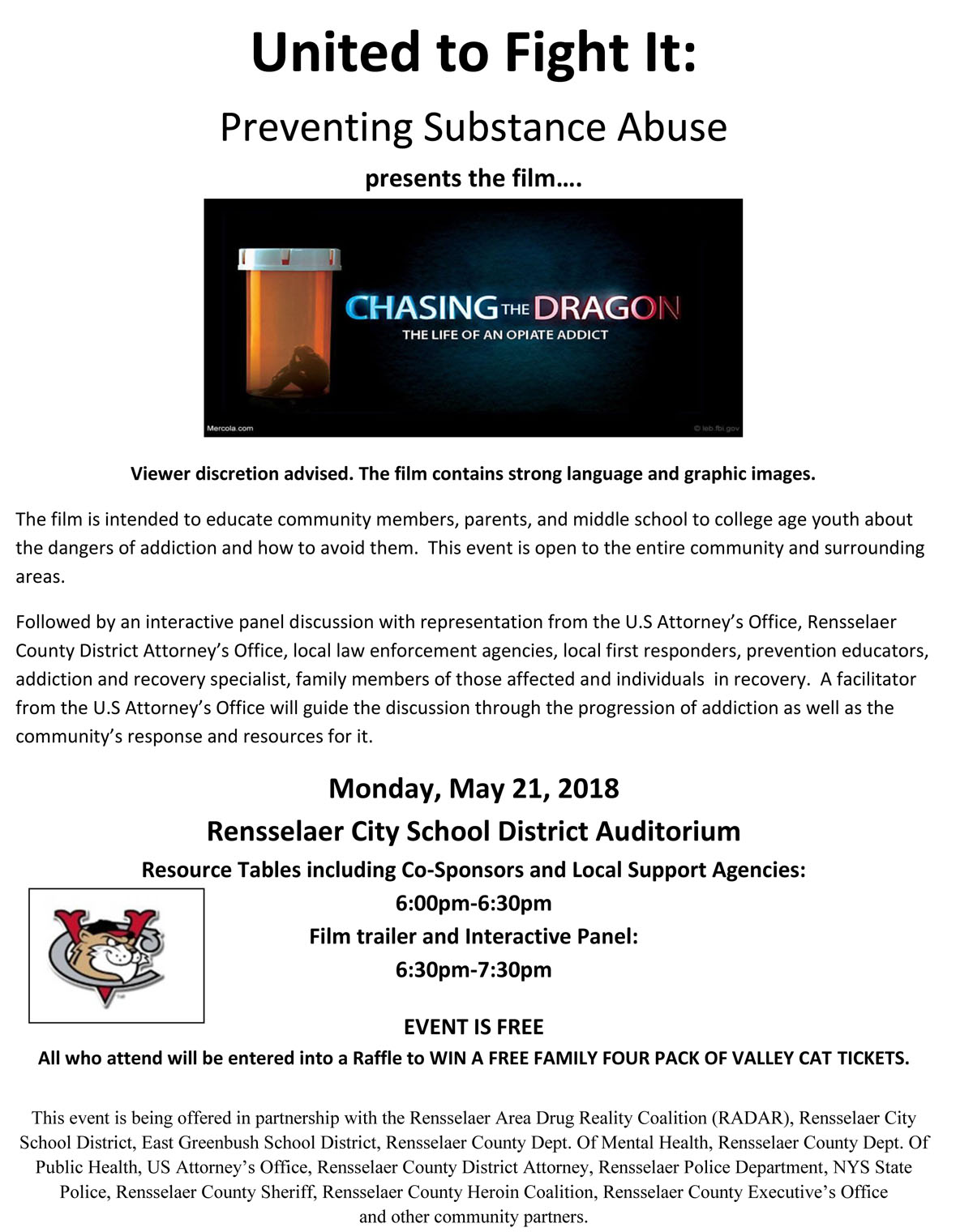 Chasing the Dragon Flyer May 21
