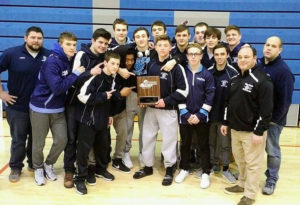 Columbia wrestling team wins Class A championship