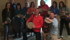 Genet staff with drums web