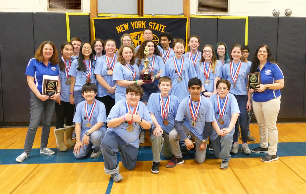 Goff Science Olympiad team at 2018 state championship