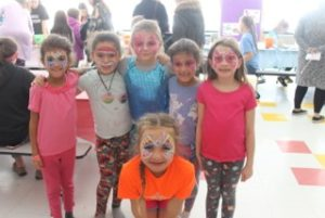Students at the Green Meadow Carnival