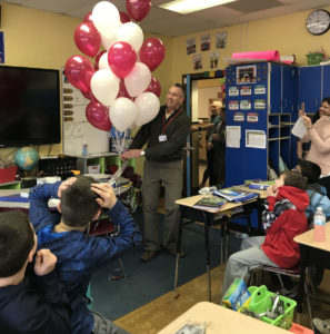 Scott Siver surprised with EGTA Teacher of the Year award