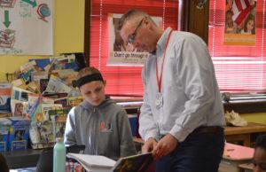 Scott Siver teaching student