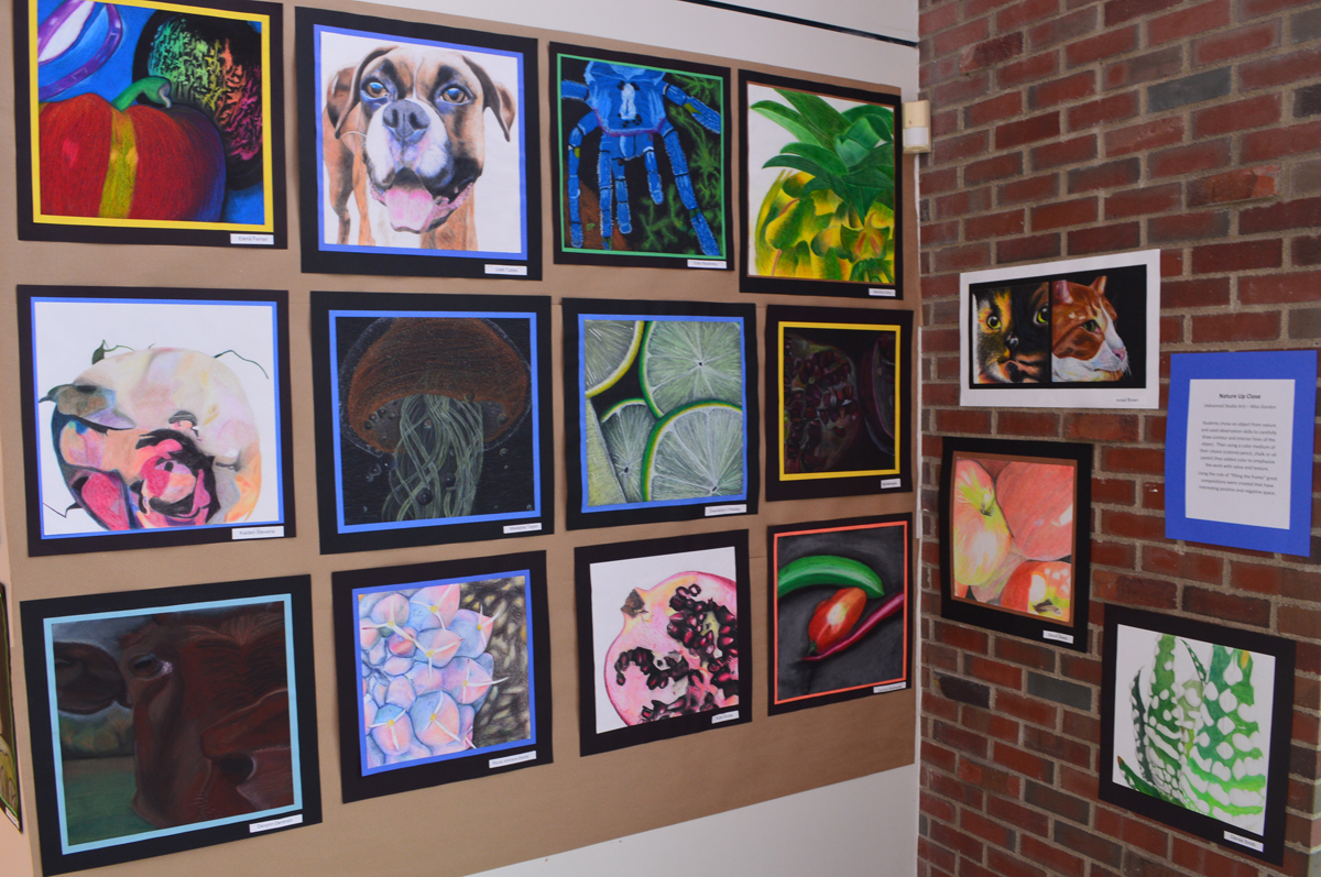 2018 Art Show exhibit