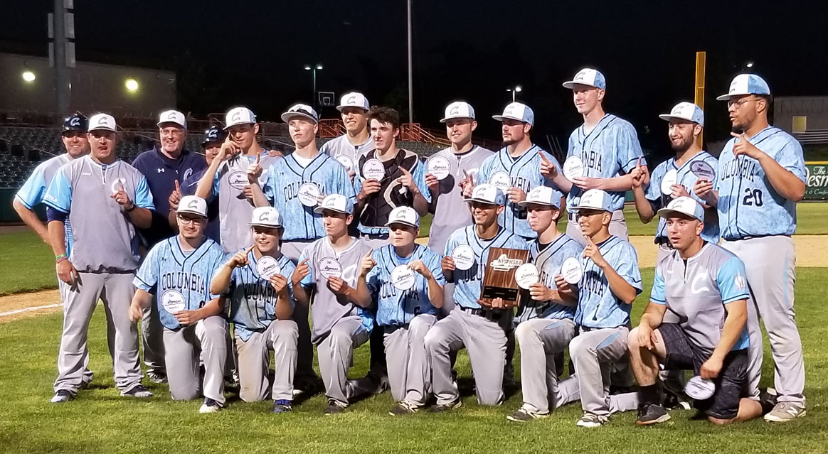 Columbia Baseball 2018 Section II champions