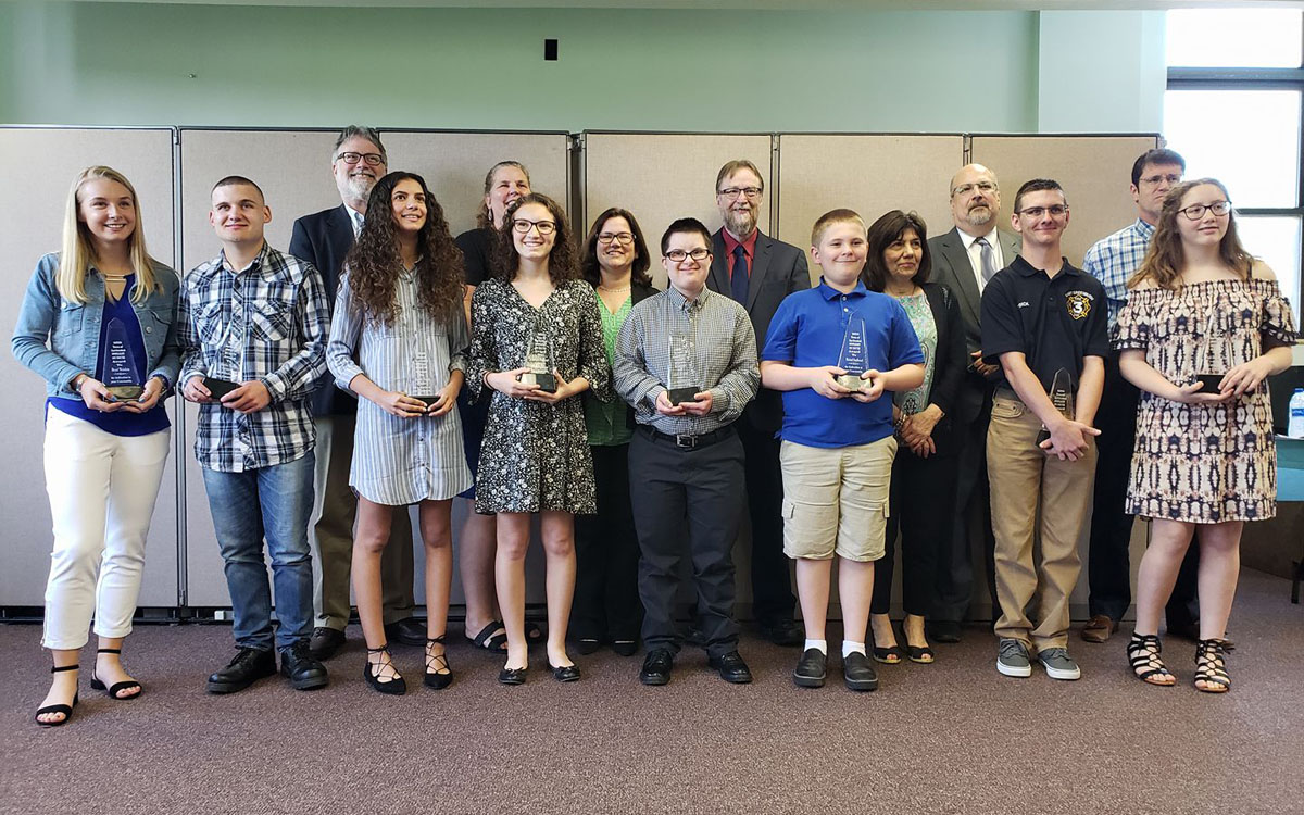 Town of East Greenbush Spotlight on Youth Awards Ceremony