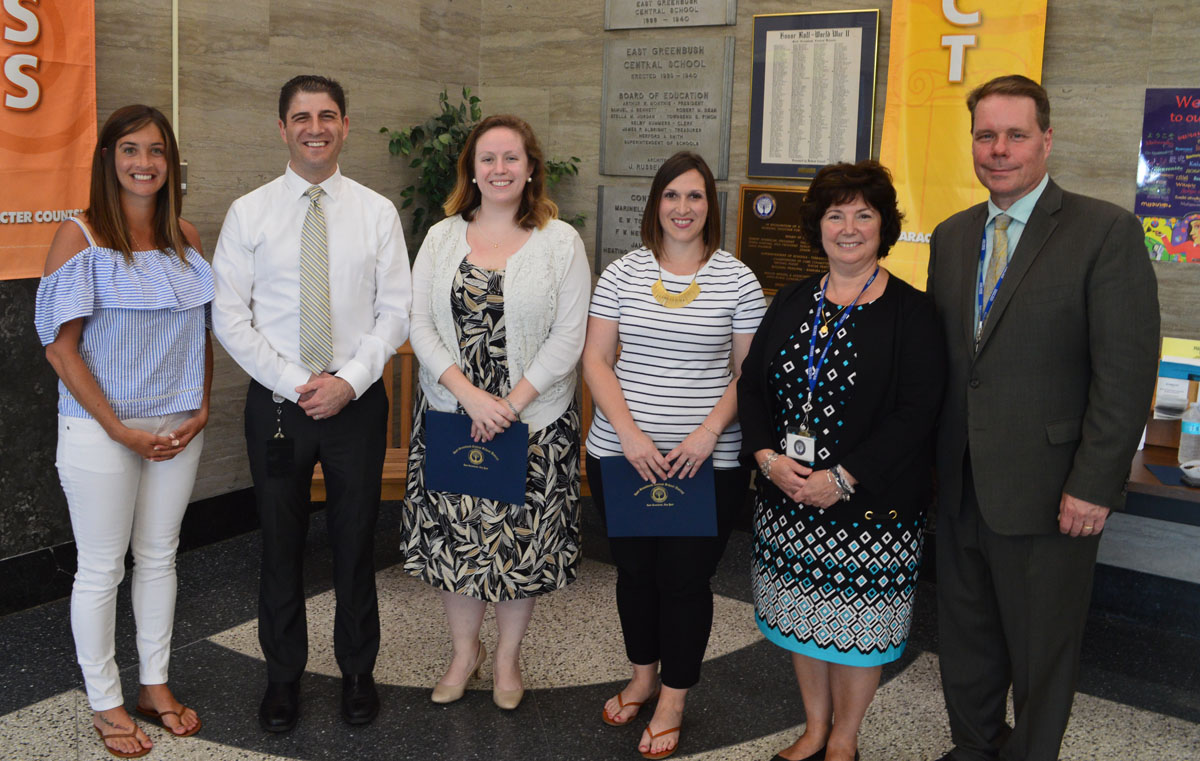 Teachers receive tenure