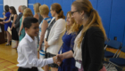 Students receive certificates
