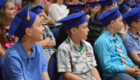 DPS students at Moving Up Ceremony