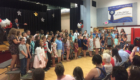 Red Mill 5th graders at Moving Up Ceremony