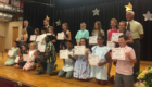 Bailey class at Moving Up Ceremony