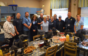 Bell Top Bus Driver Appreciation breakfast