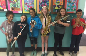 Bell Top students at NYSSMA solo festival