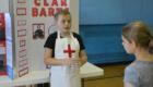 Student dressed as Clara Barton