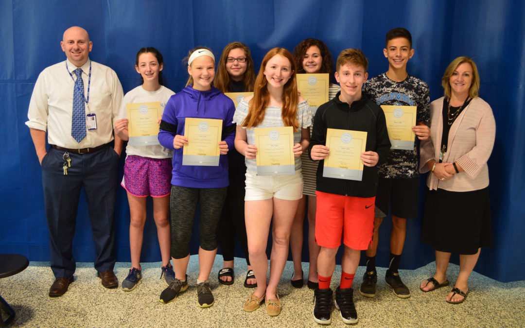 Goff Honors May Students of the Month