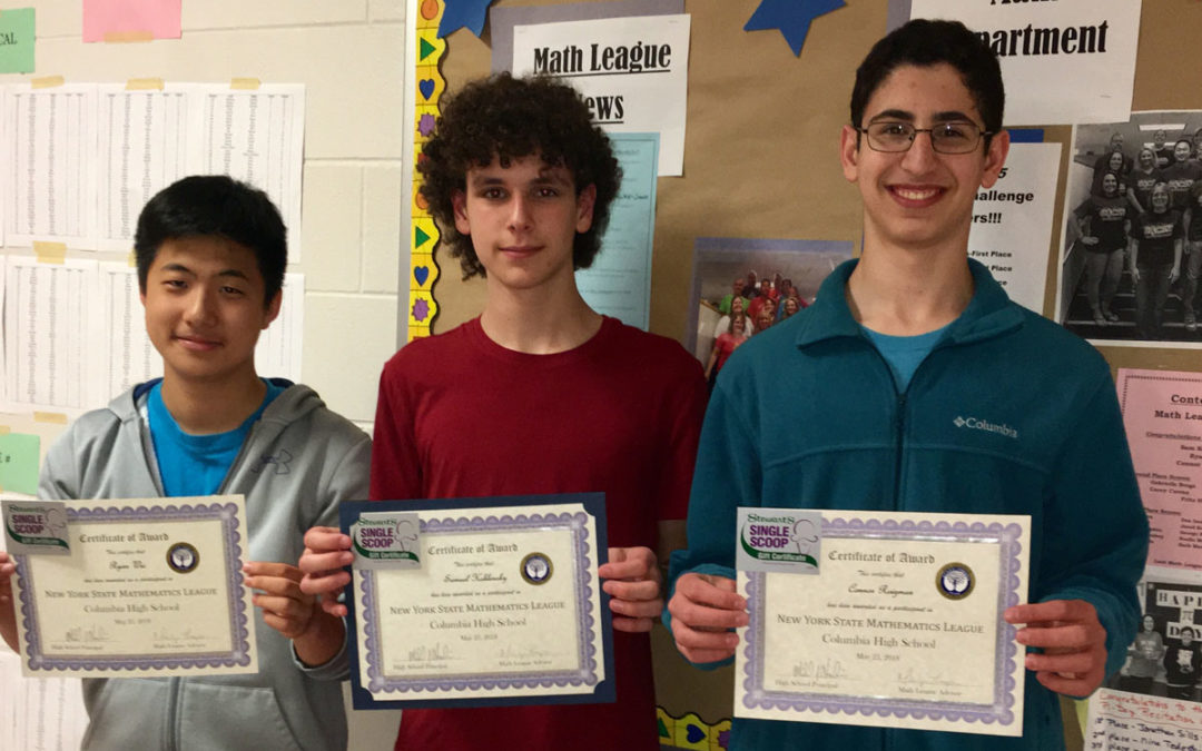 Columbia Wins Math League Regional Division