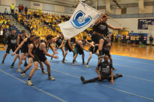 Pep Rally dance routine