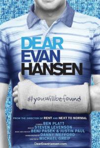 Dear Evan Hansen flyer