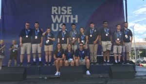 Unified team with bronze medals