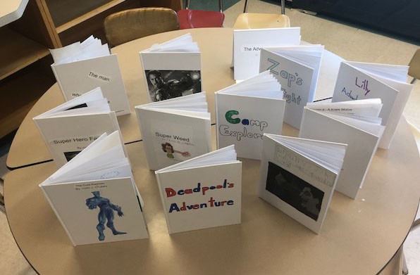 Students Use Super Powers for Writing