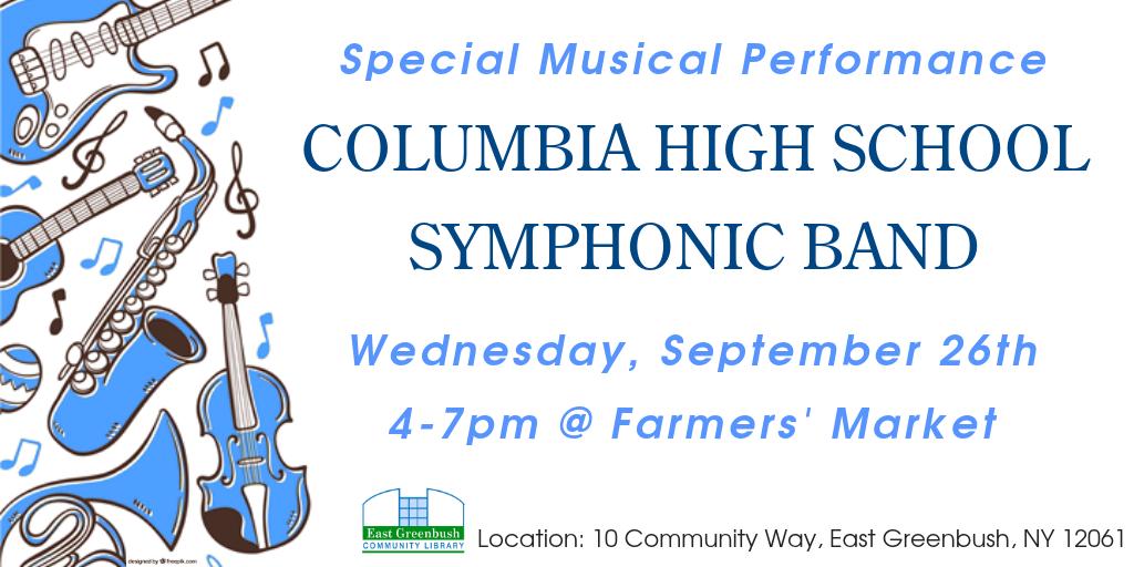 symphonic band flyer