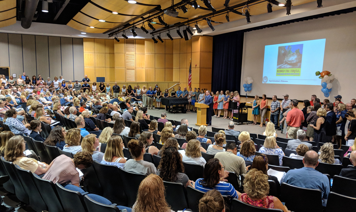 Staff receive awards on Opening Day
