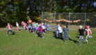 Students running in annual Pumpkin Race