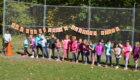 Students at the starting line