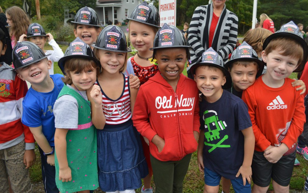 Elementary Students Learn about Fire Safety