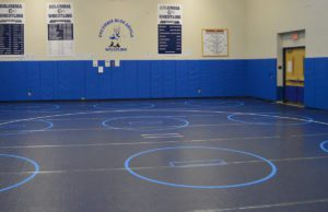 Columbia wrestling room