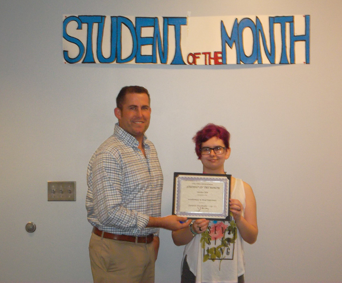 Serena Iacopelli - Student of the Month