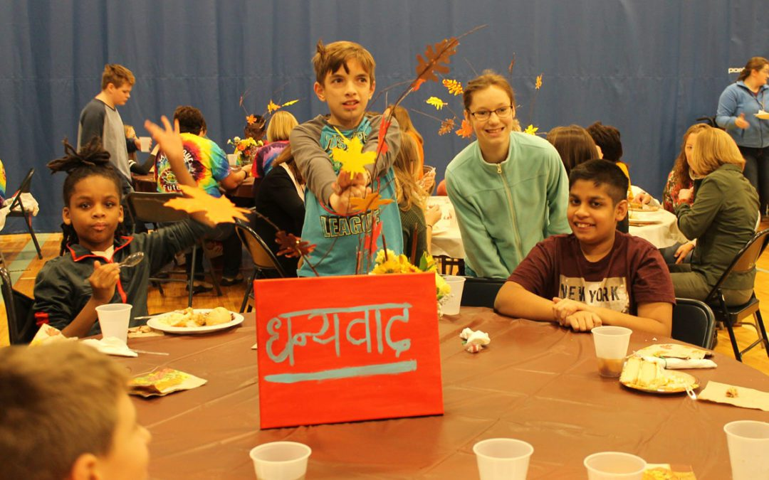 Goff Students and Staff Come Together for Thanksgiving Feast