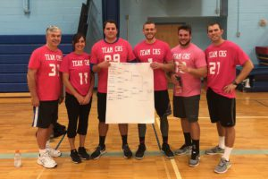 Columbia faculty volleyball team