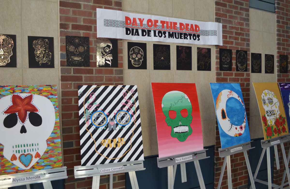 Day of the Dead art exhibit