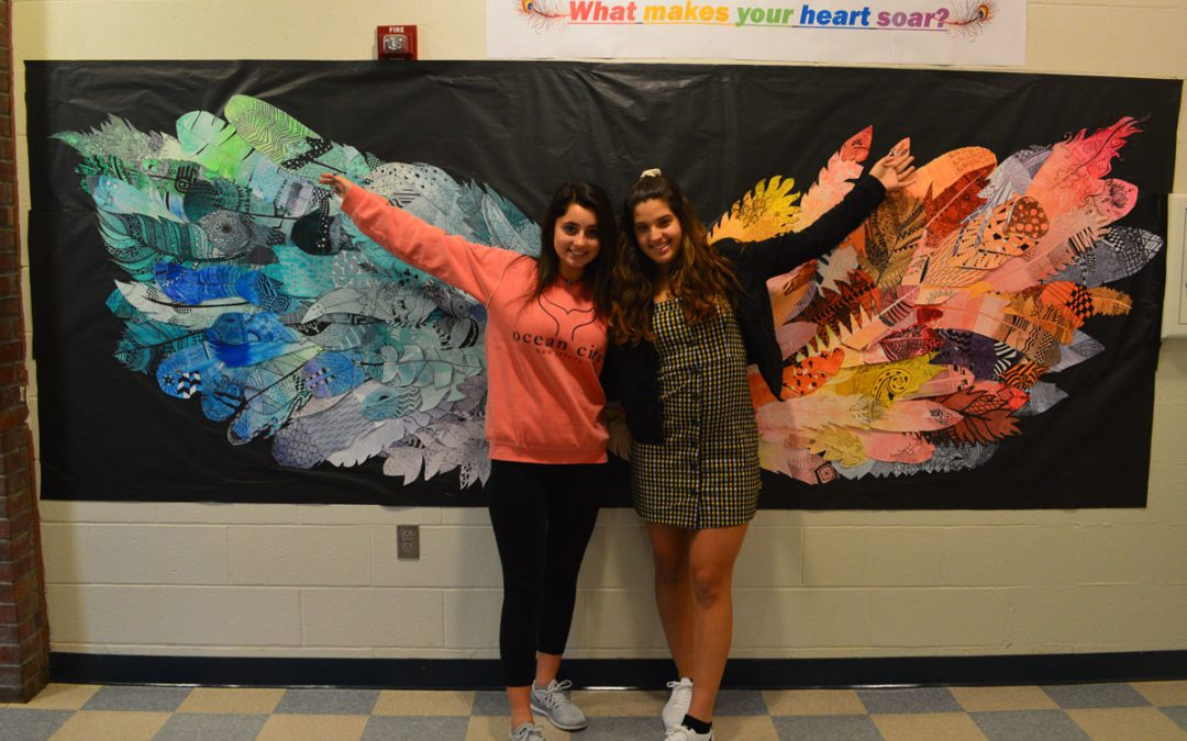 Collaborative Artwork Soars at Columbia