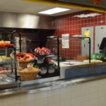 Red Mill lunch line