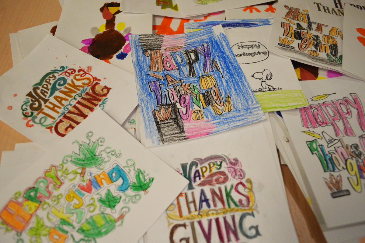 Thanksgiving Day cards for Equinox